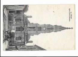 Reims - Eglise Sainte-Geneviève - édit. A. Suzaine 60 + Verso - Reims