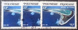 DF50500/692 - 1982 - POLYNESIE FR. - N°187 ☉ - Oblitérés