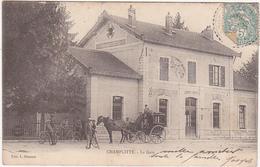 70 - CHAMPLITTE - La Gare - 1903 / Carte Précurseur / Animation - Francia