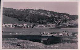 Vallée De Joux, Le Pont, Barques Et Cygnes (903) - VD Vaud