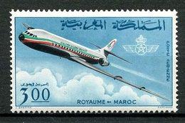 MAROC 1966 PA N° 115 ** Neuf MNH Superbe C 5,50 € Avions Planes Compagnie Royale Air Maroc Caravelle - Maroc (1956-...)