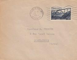 SEUL SUR LETTRE. 1952  GARABIT  928 - 1921-1960: Moderne