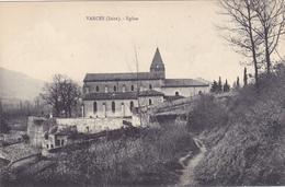 CPA 38 @ VARCES - Eglise Vue Du Chemin Piétonier - France