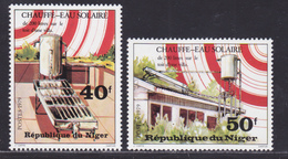 NIGER N°  468 & 469 ** MNH Neuf Sans Charnière, TB (D8900) Chauffe-eau Solaire - 1979 - Niger (1960-...)