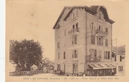 11- 3--la Louvesc Ardeche Place Marcel Et Hotel Beau Site - La Louvesc