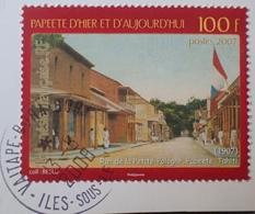 DF50500/704 - 2007 - POLYNESIE FR. - N°817 ☉sur Fragment - Polynésie Française