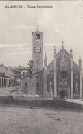 SAMPEYRE-CUNEO-CHIESA PARROCCHIALE-CARTOLINA NON VIAGGIATA ANNO 1915-1925 - Cuneo