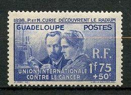 GUADELOUPE 1938 N° 139 ** Neufs MNH Superbe C 18,85 € Pierre Et Marie Curie Sciences Personnalités - Nuovi