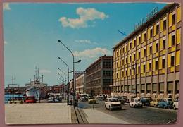 MESSINA - Viale Della Libertà E Porto - Auto Cars Fiat 500 Jolly Hotel   Vg S2 - Messina