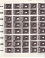 VATICANO  VATICAN  VATIKAN 1964  MICHELANGELO IN FOGLI MNH ** - Vatican