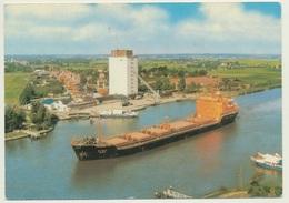 AK  Hochbrücke Hochdonn Nord Ostsee Kanal - Ships