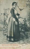 Costume Di Tiesi Sardegna Edit Valentin Cagliari  Stamp Missing 1904 - Italia