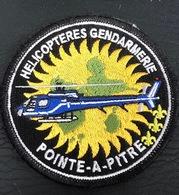 ECUSSON HELICOPTERES GENDARMERIE : SAG DE POINTE A PITRE - Politie & Rijkswacht