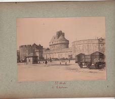 2 Photos Fin XIXe Saint Malo Ille Et Vilaine Bretagne Et Saint Servan - Anciennes (Av. 1900)