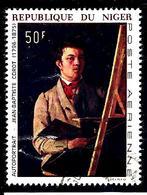 NIGER Aer80° 50f Tableaux Autoportraits Corot (10% De La Cote + 0,15) - Niger (1960-...)
