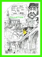 ILLUSTRATEURS - MAURICE FONVIEILLE - CARTE À COMPLÉTER & COLORER - TARN CONTEMPORAIN 2001 - - Illustrateurs & Photographes