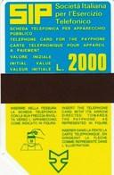 SIDA 1011 C&c / P13 Golden, 81/04 USATA MAGNETIZZATA - Italien