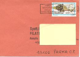 ITALIA - 1983 BOLOGNA Anno Mondiale Delle Comunicazioni Ann. A Targhetta - Telecom