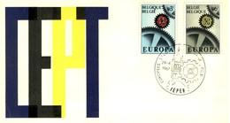 BELGIO 1967 FDC Europa CEPT. - 1961-70