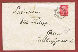 Brief Ambulant  Bahnpost  Mauterndorf - Unzmarkt 316a  Aus 1938 - Briefe U. Dokumente