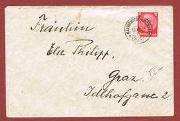 Brief Ambulant  Bahnpost  Mauterndorf - Unzmarkt 316a  Aus 1938 - 1918-1945 1. Republik