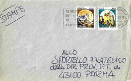 ITALIA - 1983 BARDONECCHIA (TO) 12 Mesi Su 12 A Bardonecchia - Fiori -  Ann. A Targhetta - Vacanze & Turismo