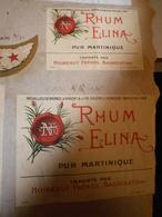 ETIQUETTE RHUM ELINA NOIRAULT FRERES BAGNOLET - Etiquettes