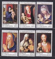 GUINEE-BISSAU N°   82 à 85, AERIENS 45 & 6** MNH Neufs Sans Charnière, TB (D8903) Tableaux Albrecht Dürer -1978 - Guinée-Bissau