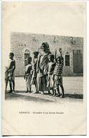 CPA Somalie - DJIBOUTI Fécondité D'une Femme Somalie ( Somali Somalienne Avec Enfants ) Bon état - Somalie