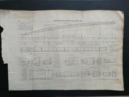 ANNALES PONTS Et CHAUSSEES - (Dep 75) Construction Du Pont Alexandre III Sur La Seine - Imp. L. Courtier 1898 (CLB59) - Public Works