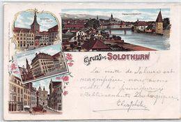 Gruss Aus Solothurn - Litho 1899 - SO Solothurn
