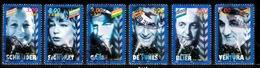 France 1998 : Timbres Yvert & Tellier N° 3187 - 3188 - 3189 - 3190 - 3191 Et 3192 Avec Oblitérations Rondes. - Frankreich
