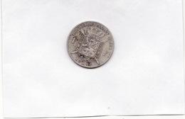 BELGIQUE **1 Francs 1887 En Argent** Leopold II Koning Der Belgen (n°3) - 07. 1 Franc