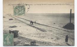 85--NOIRMOUTIER BARBATRE-- LE PASSAGE DU GOIS  --  RECTO / VERSO-- B53 - Noirmoutier