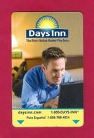 Carte D'hôtel Days Inn - Hotelkarten