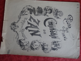 Partition Ancienne GF Polka Pour Piano Chanson Du Zan Le Roi Des Réglisses Nestor Caramel Sant'Angelo - Partituras