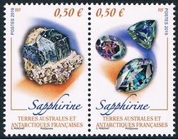 TAAF - Minéraux : Sapphirine (année 2019) ** - Minéraux