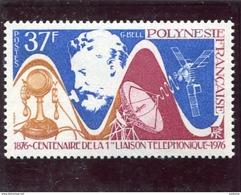 POLYNESIE FRANCAISE-N° 110- Graham BELL -Téléphone-Neufs Sans Char -TTB Cote 13 Euros - Neufs