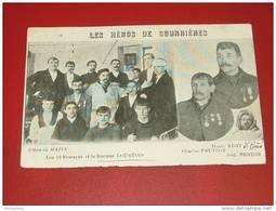 COURRIERES  -  Catastrophe De Courrières En 1906 - Les Héros , Les 13 Rescapés - Lens