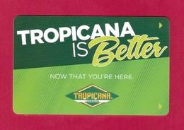 Carte D'hôtel Tropicana Laughlin, Nevada. - Hotelkarten