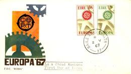 *1967 - IRLANDA - EUROPA - BUSTA FDC. - FDC