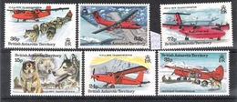 British Antarctic Territory 1994 Forms Of Transportation MNH CV £7.70 - British Antarctic Territory  (BAT)