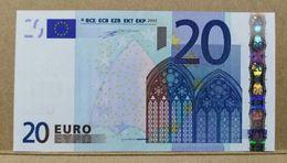 20 EURO AUTRICHE/AUSTRIA N F001 UNC/FDS/NEUF DUISENBERG - EURO