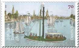"""2016 Germany - 200 Jahre Dampfschiff """"Die Weser""""/ 200 Years Of Dampfer """"Die Weser"""" -1v Paper - MNH** Mi 3273 - BRD"""