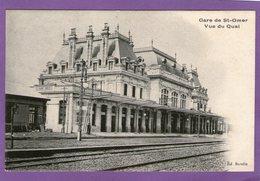 Gare De SAINT-OMER - Vue Du Quai - - Saint Omer