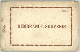 (Amsterdam) REMBRANDT - SOUVENIR, Tableaux Du RIJKS MUSEUM, Carnet De 12 Cartes, Complet - Pays-Bas
