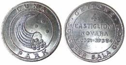 05540 GETTONE JETON TOKEN LUNA PARK AMUSEMENT SALA GIOCO 4 CASTIGLIONI NOVARA - Italy