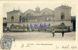 75 - Paris - Gare Montparnasse - 1904 - Metropolitana, Stazioni