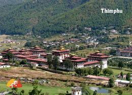 Bhutan Thimphu Aerial View New Postcard - Bhutan