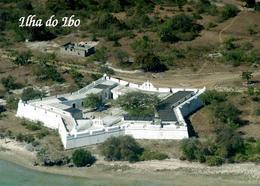 Mozambique Ibo Island Fort Aerial View New Postcard Mosambik AK - Mosambik